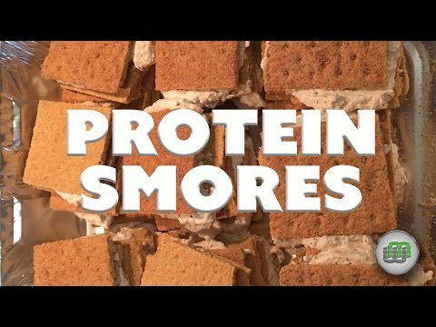 Video Protein Smores! Healthy and Delicious