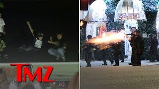 XXXTentacion Memorial: Total Chaos as Riots Break Out in Los Angeles | TMZ