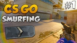 CS:GO SMURFING #1 - JOINING A SILVER CLAN!