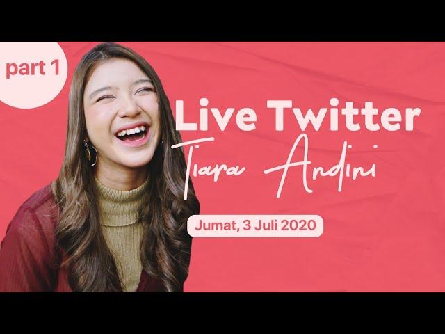 Nyanyi Bareng Tiara Andini Di Live Twitter Part 1