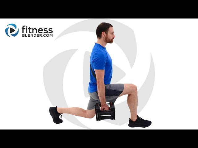 Lower Body Active Static Strength Workout – Strength and Endurance Burnout