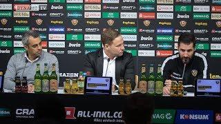 24. Spieltag | SGD - BOC | Pressekonferenz nach dem Spiel