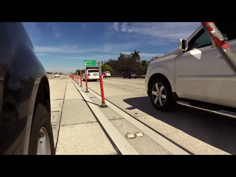 Lawmakers want I-95 express lane poles removed in Miami-Dade County
