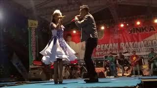 "Duet Andi KDI Feat Tasya Rosmala "" Kasih Dan Sayang "" - Om.Adella - Live Kota Madiun"