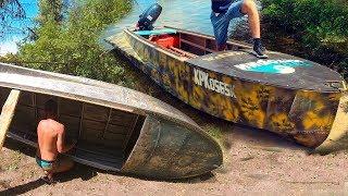 Старых лодок на берегу