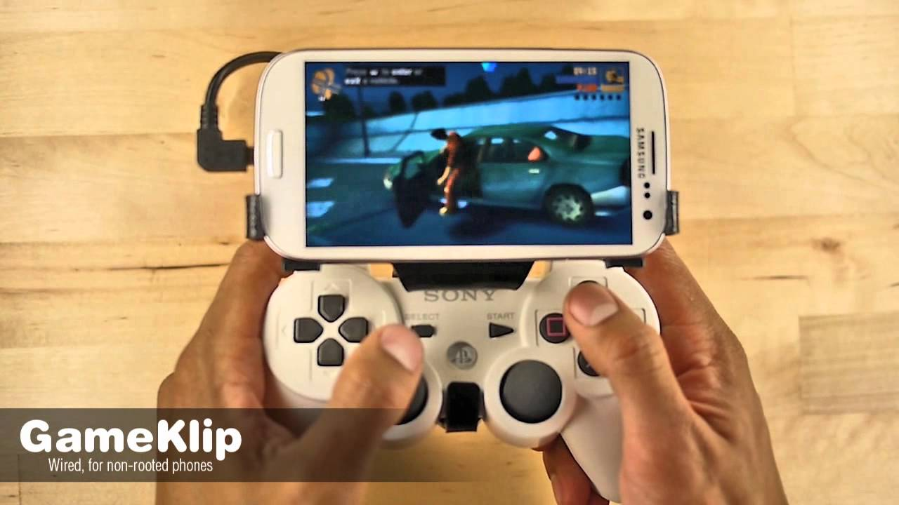 Transform Your Phone Into A PlayStation