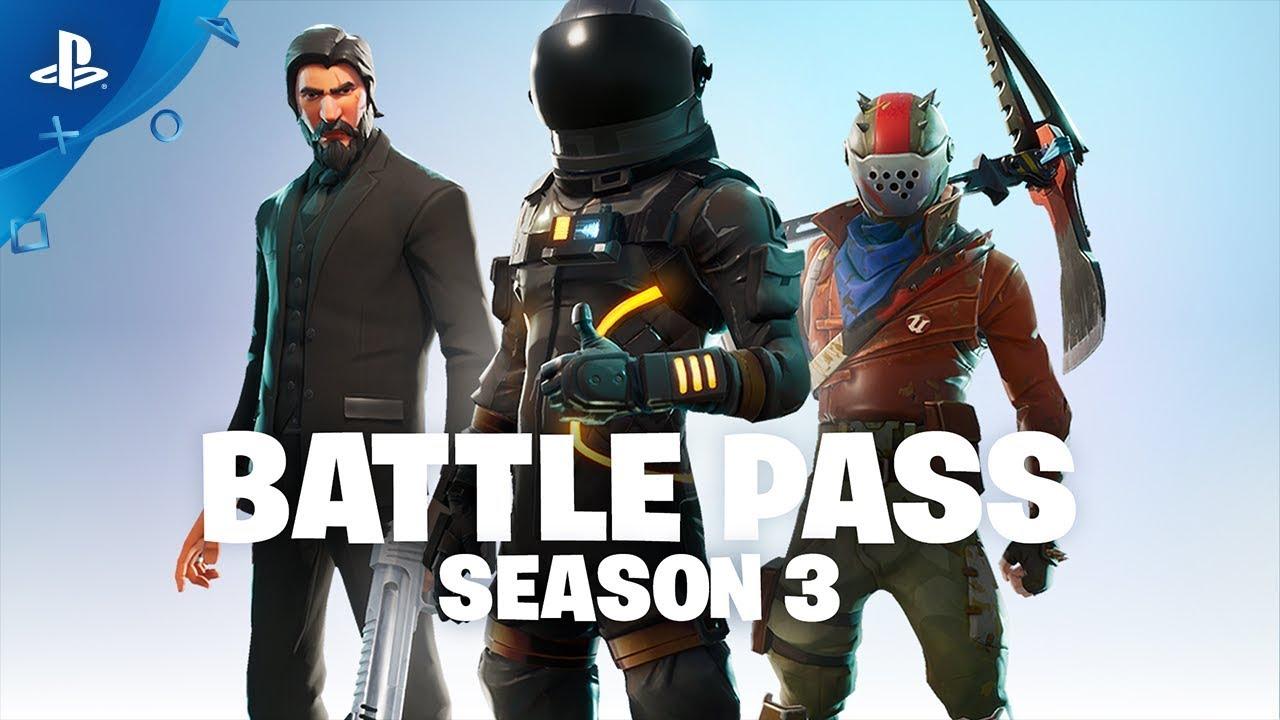 Fortnite Battle Royale: Full Details on Season 3 Battle Pass
