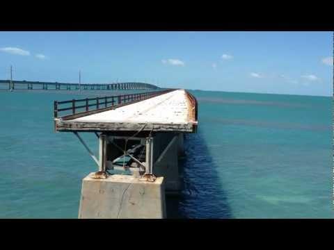 The Old 7 Mile Bridge - Florida Keys