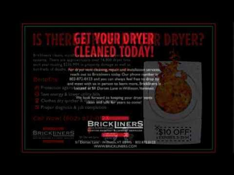 Dryer Fire I Dryer Vent Cleaning Vermont Brickliners Chimney and Repair