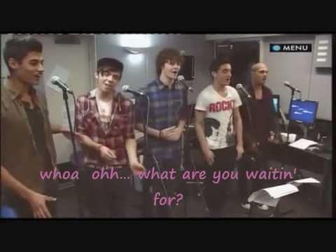 The Wanted - Animal (FULL version,  Lyrics on Screen, Live Lounge)