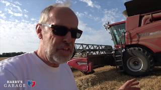 Here's how a combine harvester works and what it's like to drive