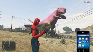 GTA 5 Spider Man 2 Mod - Người Nhện 2 xuất hiện trong GTA 5