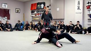 Jamie Seabrook - 7th Degree Black Belt Testing