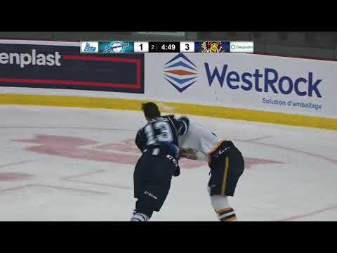 Charles Beaudoin vs. Tristan Pelletier