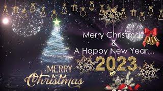 Merry XMAS Greetings Video ll Golden Christmas wishes 2020 | Christmas whatsapp status video 2020