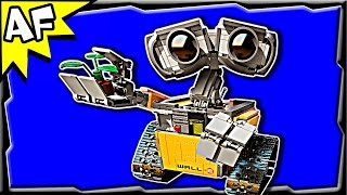 Lego Disney WALL-E 21303 Animation & Stop Motion Build Review