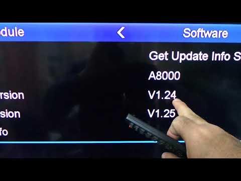 How upgrade your istar receiver software online? - смотреть
