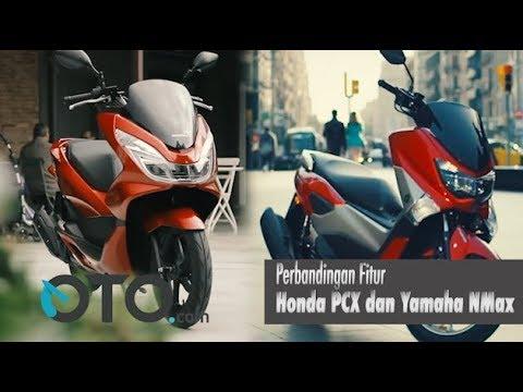 Perbandingan Fitur Honda PCX dan Yamaha NMAX
