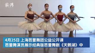 Shanghai Ballet Company presents classical Swan Lake during online masterclass