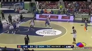 Pelea entre SDB vs LNB (Pleito entre la selección dominicana de baloncesto y LNB)