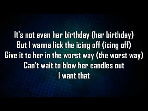 Rihanna Ft. Chris Brown - Birthday Cake (Remix)  Lyrics