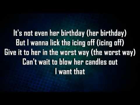 Excellent Birthday Cake By Rihanna Songfacts Funny Birthday Cards Online Elaedamsfinfo