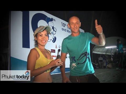 The 10th Turtle Fun Run at Phuket's Mai Khao Beach