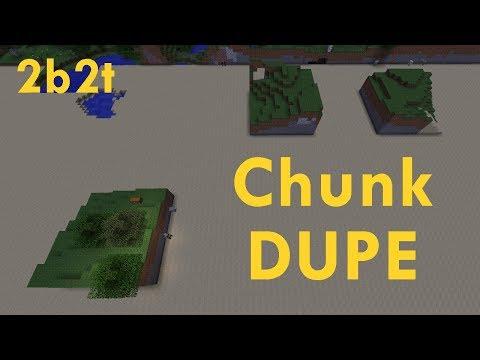 Minecraft / 2b2t - The Chunk Duplication Glitch - SalC1