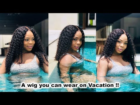 PERFECT curly Lace Wig for VACATION, Easy customization & Install  | WowAfrican