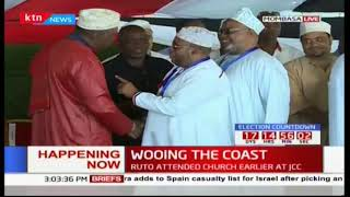 President Uhuru hands out title deeds to Coast residents