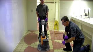 Tile Grout Cleaning Video