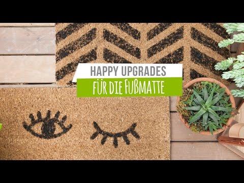 Upgrade für die Fußmatte   WESTWING DIY-Tipps
