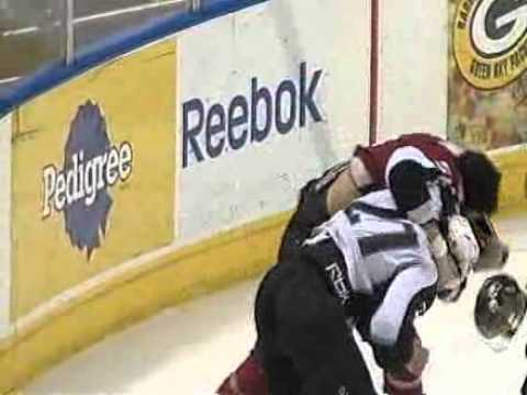 Zack Stortini vs. Patrick Bordeleau