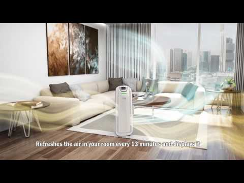 New Pureit AIR Purifier with Pure Lung Technology. - YouTube