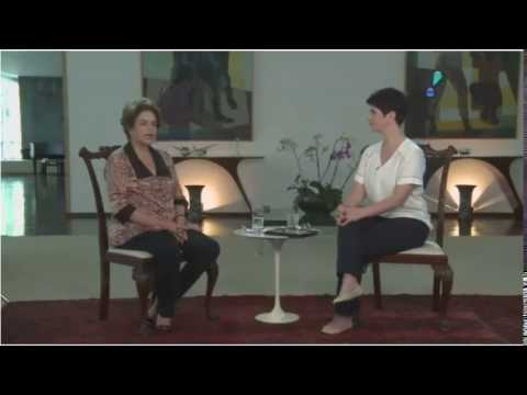 Mariana Godoy recebe a presidente afastada Dilma Rousseff - Íntegra