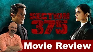 Section 375 Movie Review | #TutejaTalks