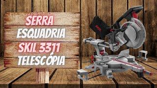 Demonstração Serra Esquadria Skil  3311 com Braço Telescópio