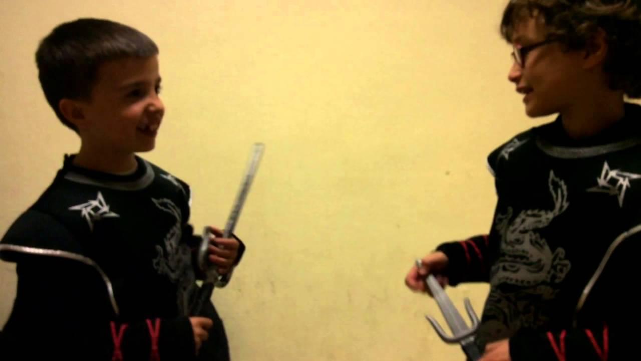 Secuestro de las aprendices ninja