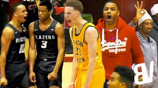 #1 Sierra Canyon VS #2 Rancho Christian: HYPE BATTLE For #1 in CALI! Luke Turner Comes in CLUTCH!