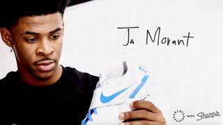 One word written on Ja Morant's sneakers has him ready to dominate | MORE THAN A SIGNATURE