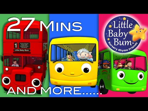 Wheels On The Bus | All Wheels On The Bus Videos | Little Baby Bum | Nursery Rhymes for Babies