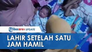 Tahu Putrinya Melahirkan Tiba-tiba setelah Hamil 1 Jam, Sang Ayah Hampir Pingsan