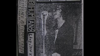 Subhumans live - 80 + 81 Demo Live 1981 by D.A.T. (Desperate Attempt Tapes)