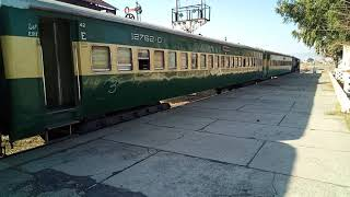 preview picture of video '19UP Khushal Khan Khatak Express Departuring from Attock city Junction.'