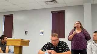 preview picture of video 'Lynne Thompson of Blossburg on closure of Wellsboro mental health unit'