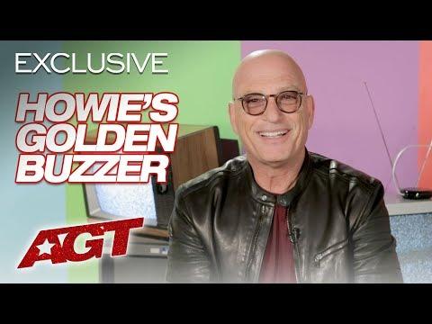 Golden Buzzer Hit! Howie Mandel Put His Foot Down For Joseph Allen - America's Got Talent 2019 (видео)