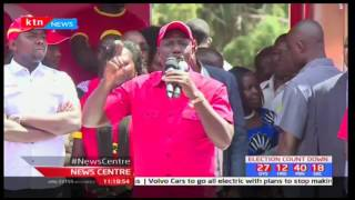 Uhuru, Ruto step up their criticism over judiciary over the handing of election related cases