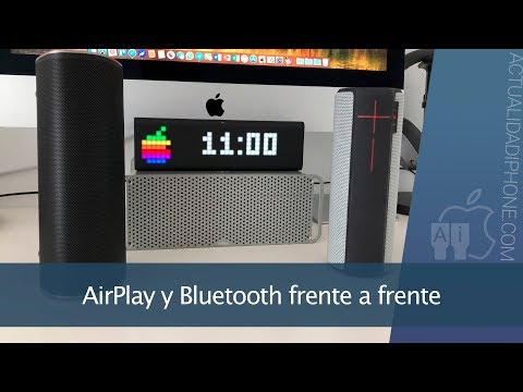 ¿Bluetooth o AirPlay? Qué altavoz elegir