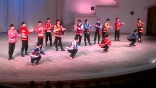 Березка мужские трюки в русском танце
