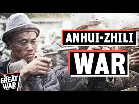 Chinese Warlord Era - The Zhili–Anhui War I THE GREAT WAR 1921